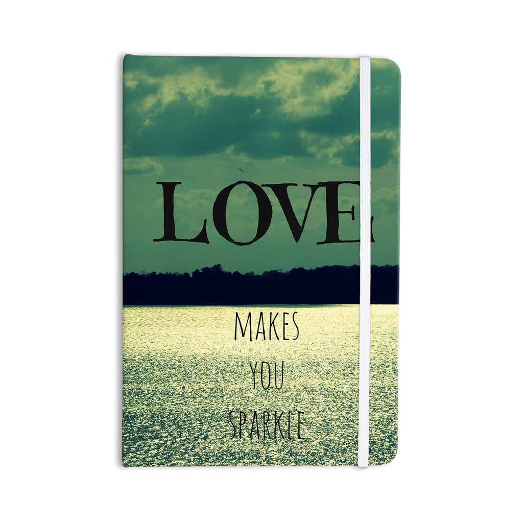 "Robin Dickinson ""Love Makes You Sparkle"" Everything Notebook - KESS InHouse  - 1"