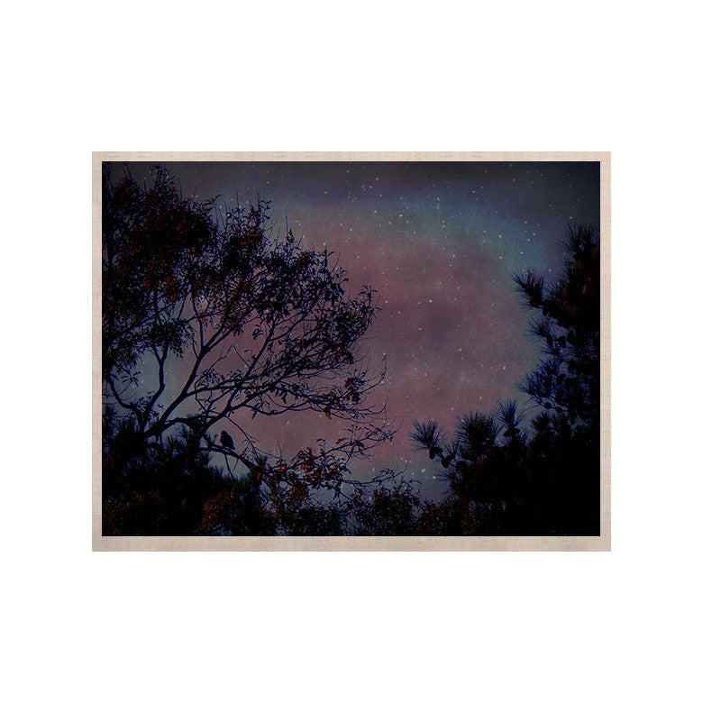 "Robin Dickinson ""Twilight"" Purple Tree KESS Naturals Canvas (Frame not Included) - KESS InHouse  - 1"