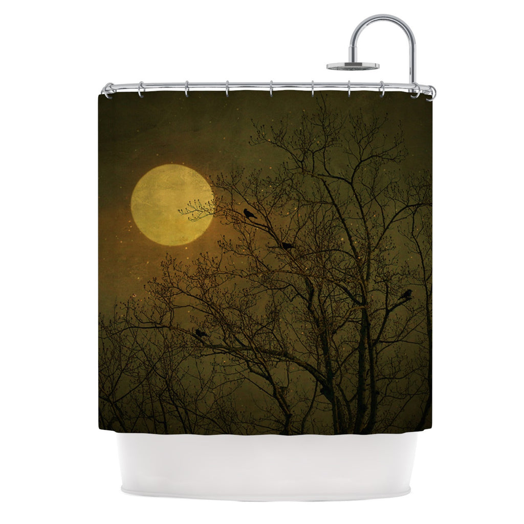 "Robin Dickinson ""Starry Night"" Shower Curtain - KESS InHouse"