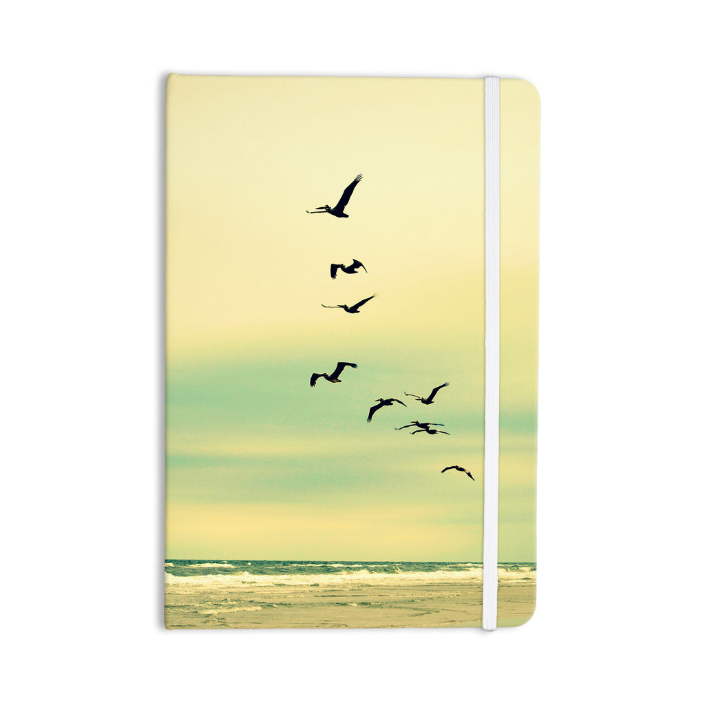 "Robin Dickinson ""Across The Endless Sea"" Birds Everything Notebook - KESS InHouse  - 1"