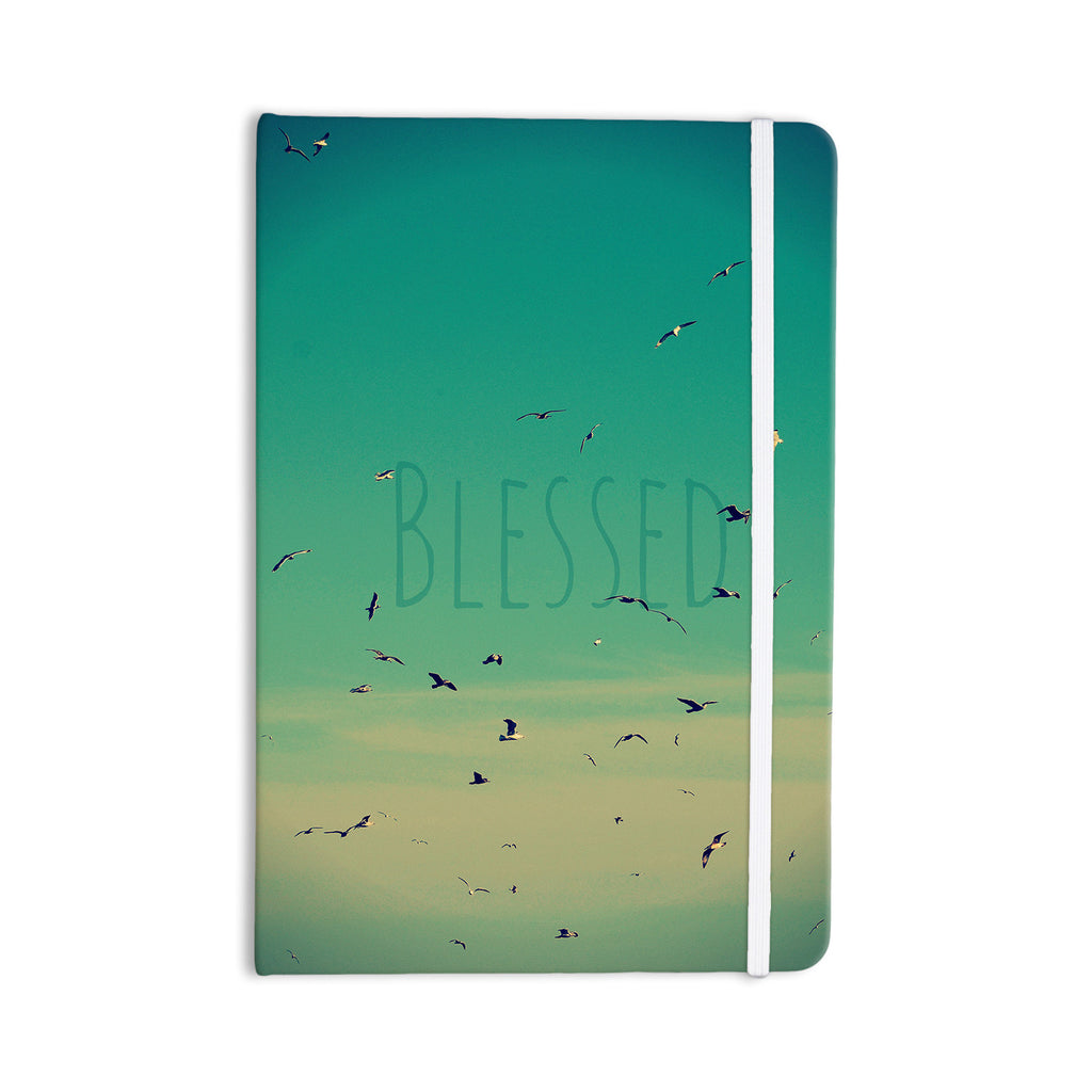 "Robin Dickinson ""Blessed"" Birds Everything Notebook - KESS InHouse  - 1"