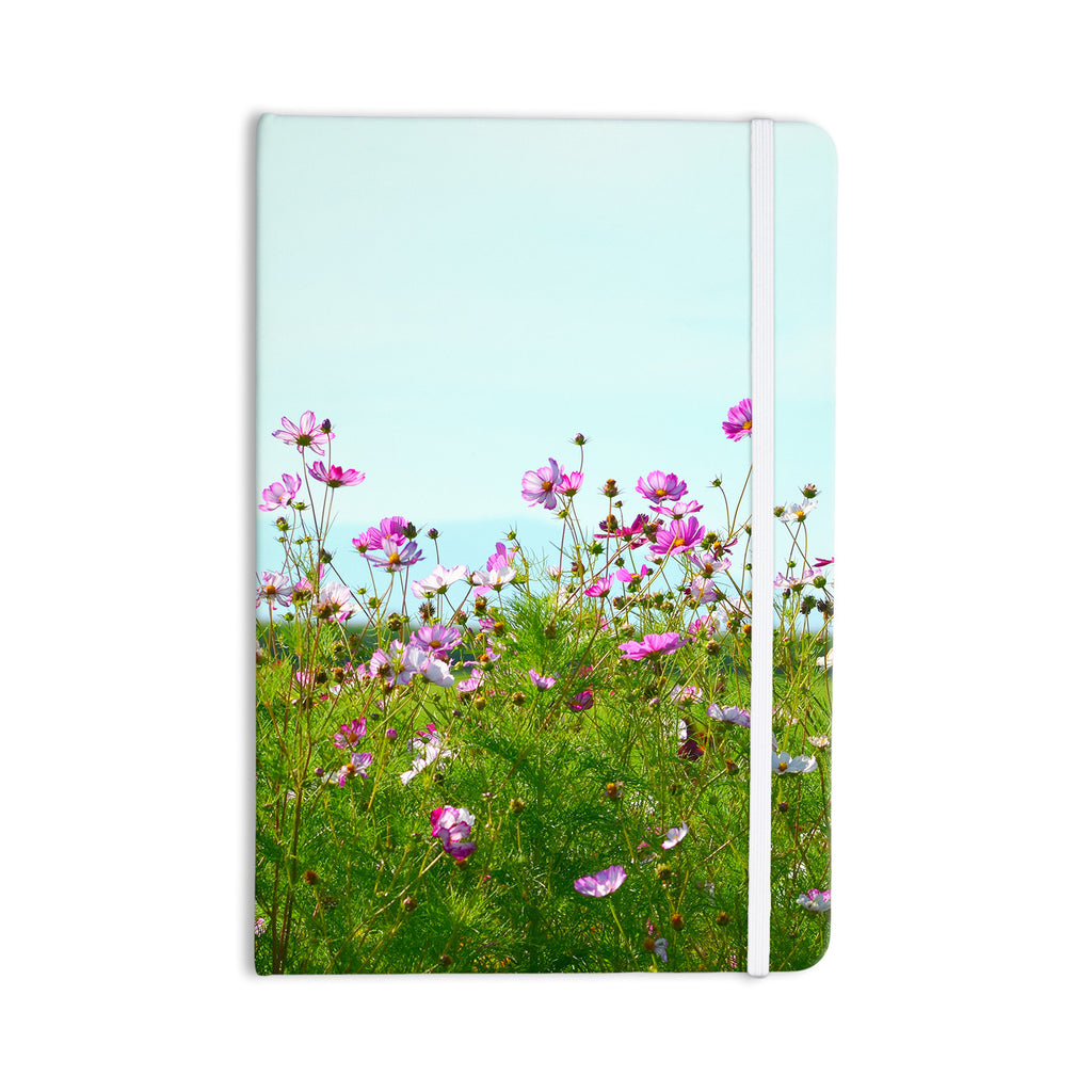 "Robin Dickinson ""I Choose Magic"" Flowers Everything Notebook - KESS InHouse  - 1"