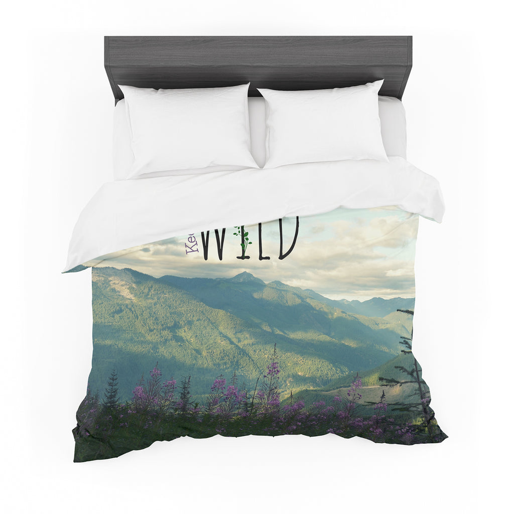 "Robin Dickinson ""Keep it Wild"" Cotton Duvet"