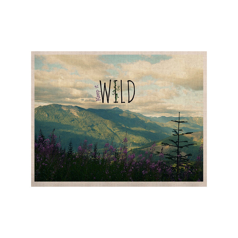 "Robin Dickinson ""Keep it Wild"" KESS Naturals Canvas (Frame not Included) - KESS InHouse  - 1"