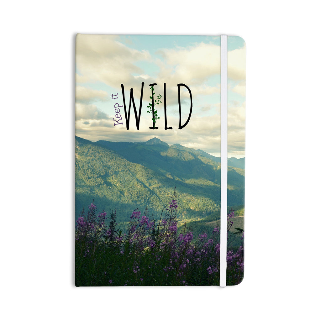 "Robin Dickinson ""Keep it Wild"" Everything Notebook - KESS InHouse  - 1"