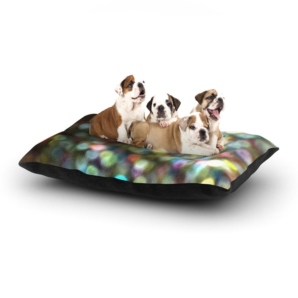 "Robin Dickinson ""You Are Beautiful II"" Art Object Dog Bed - KESS InHouse  - 1"