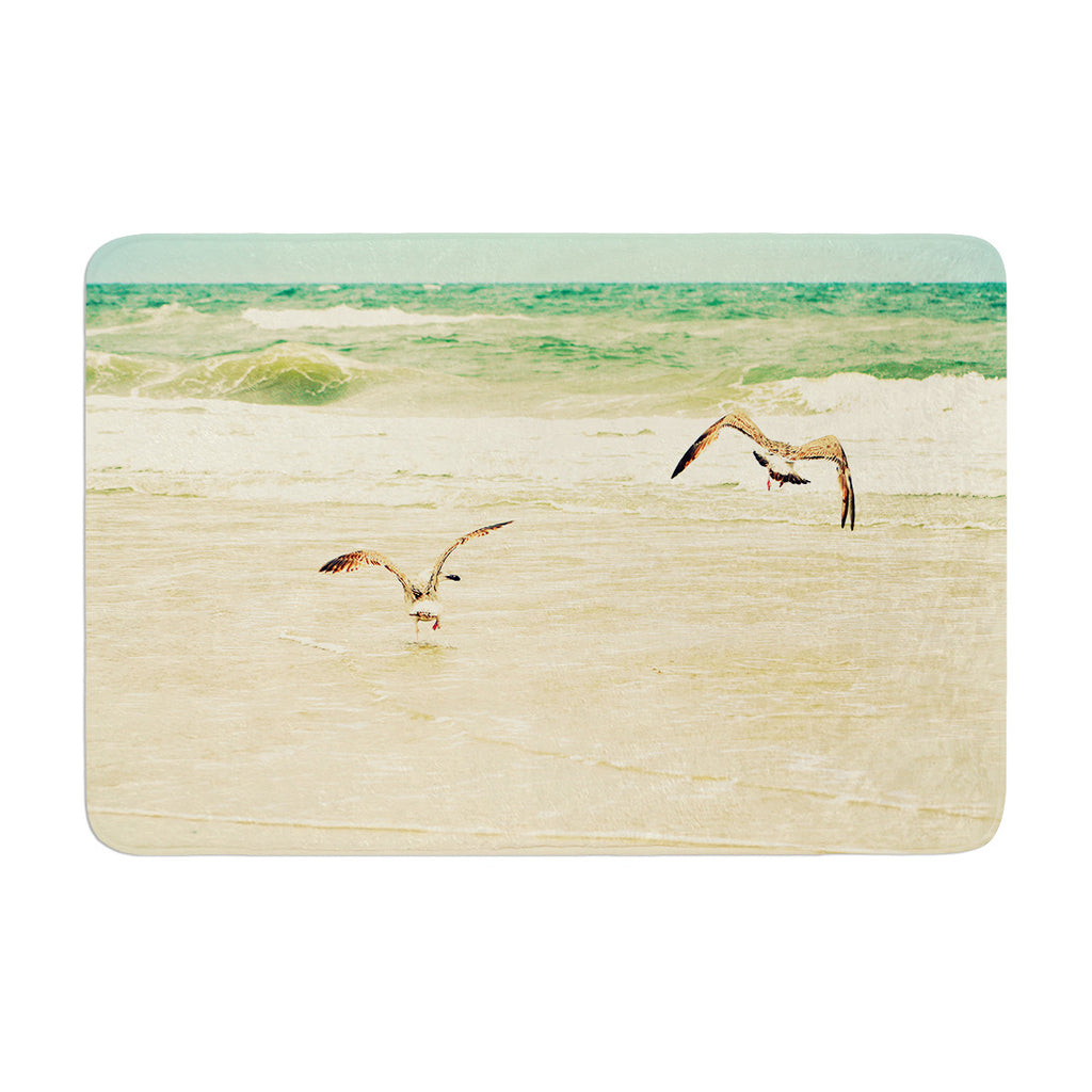 "Robin Dickinson ""Karate Kid Pose"" Art Object Memory Foam Bath Mat - KESS InHouse"