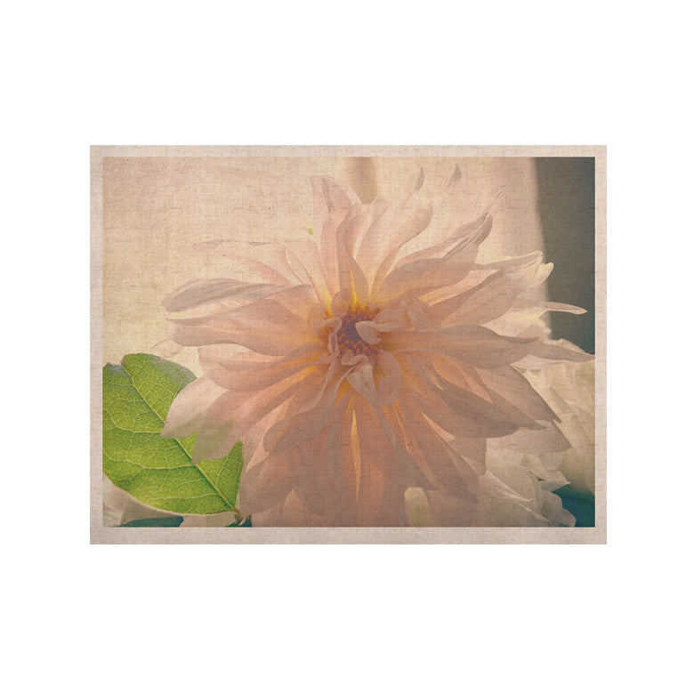 "Robin Dickinson ""Buy Her Flowers"" White Pink KESS Naturals Canvas (Frame not Included) - KESS InHouse  - 1"