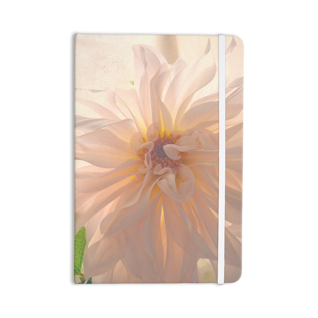 "Robin Dickinson ""Buy Her Flowers"" White Pink Everything Notebook - KESS InHouse  - 1"