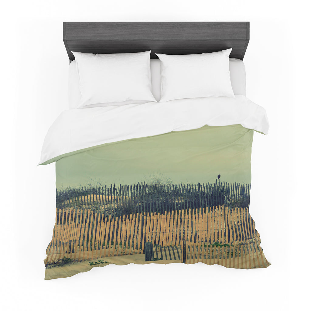 "Robin Dickinson ""Carova Dunes"" Beach Cotton Duvet"