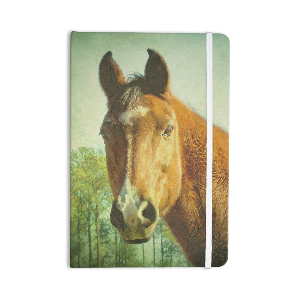 "Robin Dickinson ""CT"" Green Brown Everything Notebook - KESS InHouse  - 1"