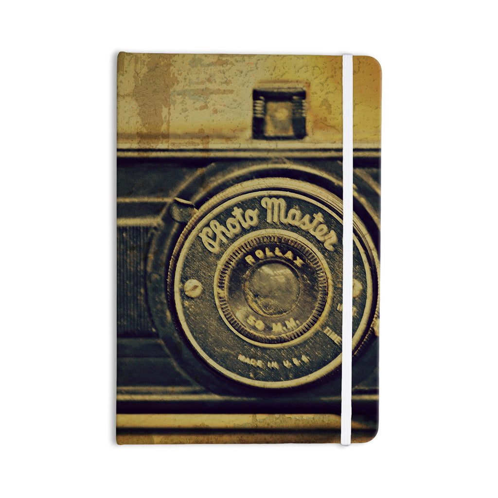 "Robin Dickinson ""Discarded Treasure"" Vintage Camera Everything Notebook - KESS InHouse  - 1"