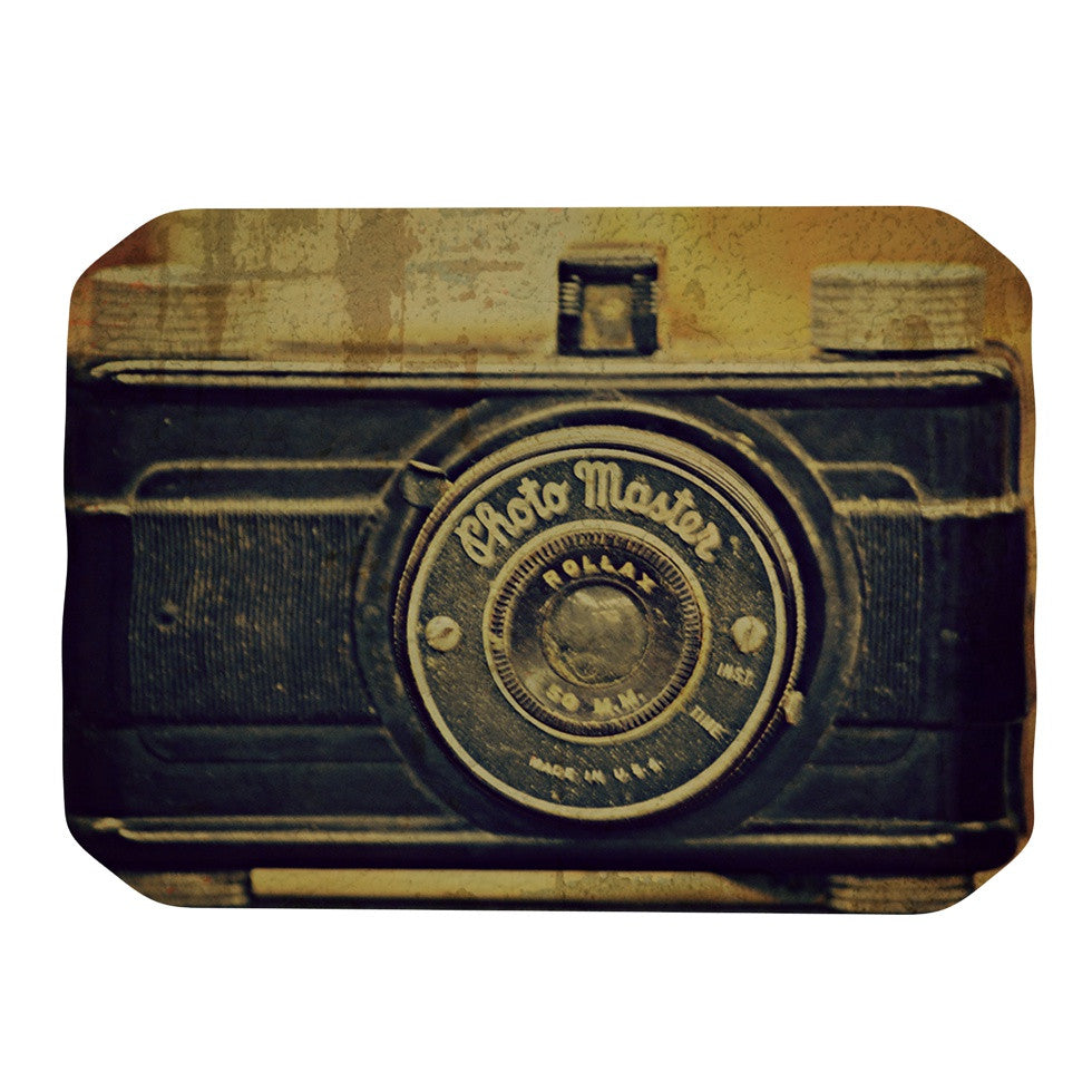 "Robin Dickinson ""Discarded Treasure"" Vintage Camera Place Mat - KESS InHouse"
