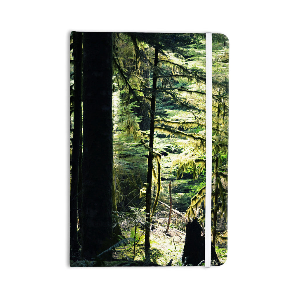 "Robin Dickinson ""Enchanted Forest"" Green Everything Notebook - KESS InHouse  - 1"