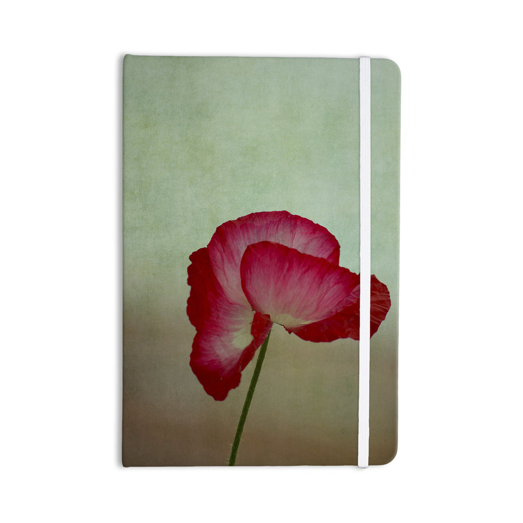 "Robin Dickinson ""La Te Da"" Magenta Poppies Everything Notebook - KESS InHouse  - 1"