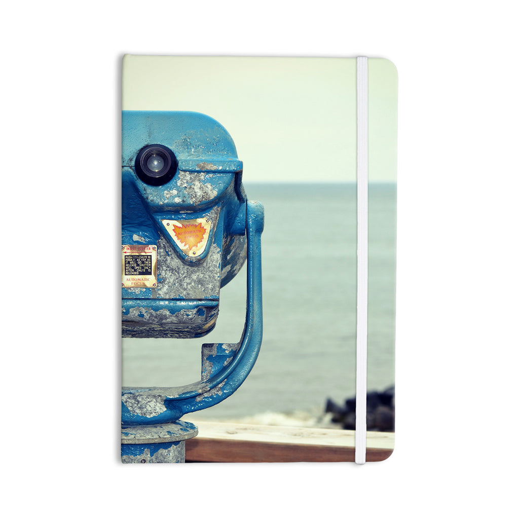 "Robin Dickinson ""Way Out There"" Ocean Everything Notebook - KESS InHouse  - 1"