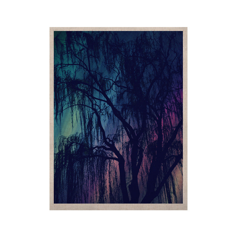 "Robin Dickinson ""Weeping"" Purple Tree KESS Naturals Canvas (Frame not Included) - KESS InHouse  - 1"