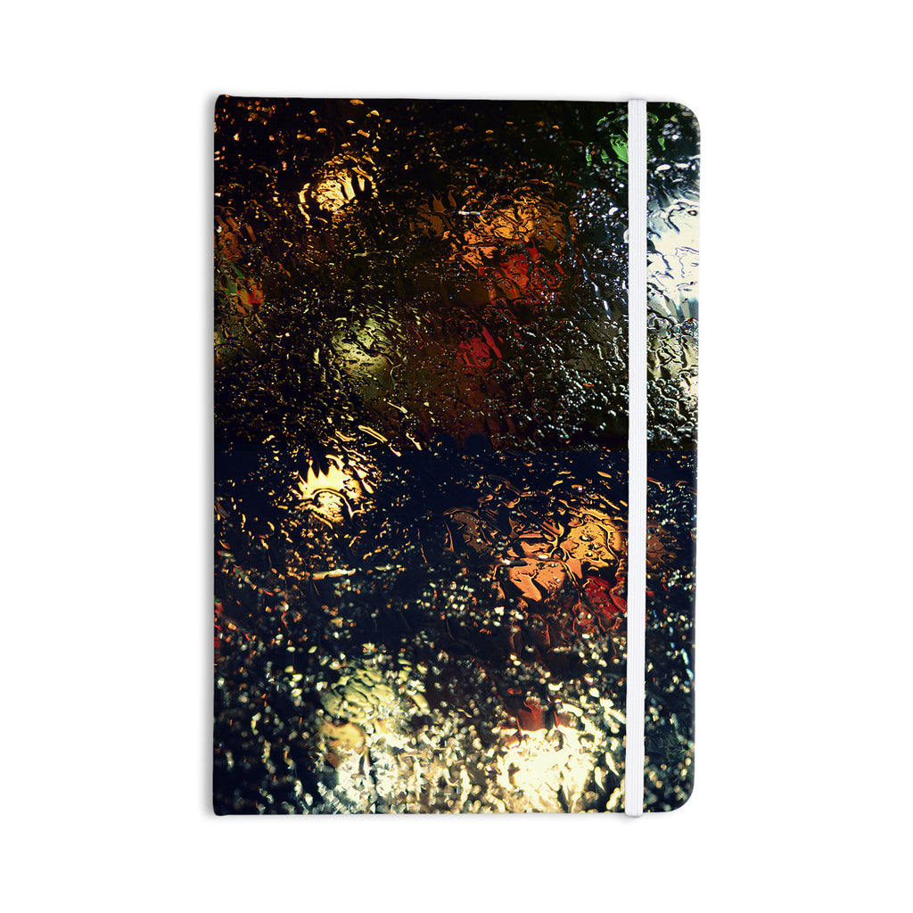"Robin Dickinson ""Blinded"" Water Black Everything Notebook - KESS InHouse  - 1"