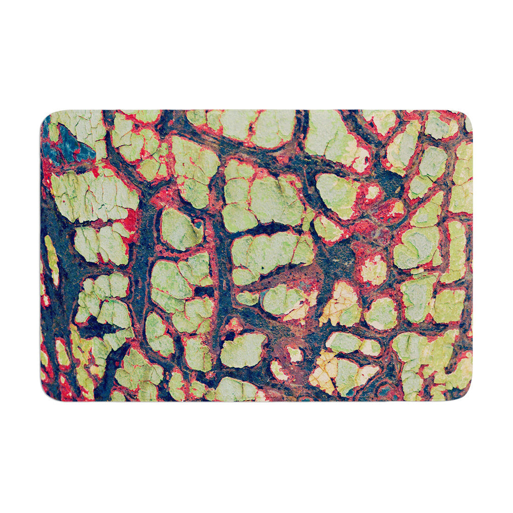 "Robin Dickinson ""Pretty Patina"" Bark Memory Foam Bath Mat - KESS InHouse"
