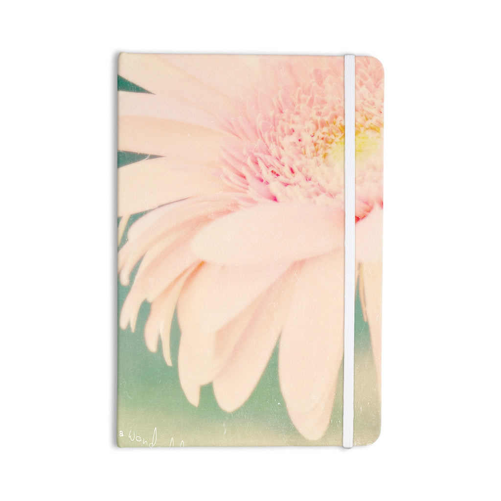 "Robin Dickinson ""Wonderful"" Pink Green Everything Notebook - KESS InHouse  - 1"