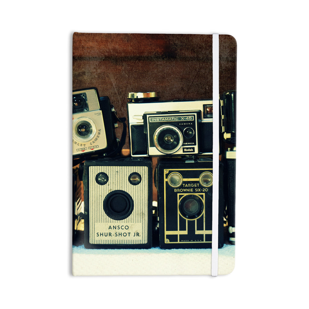 "Robin Dickinson ""Through the Years"" Vintage Camera Everything Notebook - KESS InHouse  - 1"