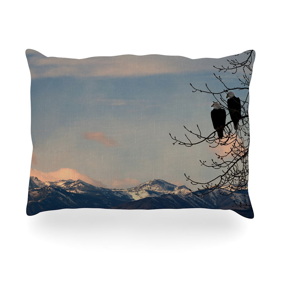 "Robin Dickinson ""Majesty"" Nature Landscape Oblong Pillow - KESS InHouse"