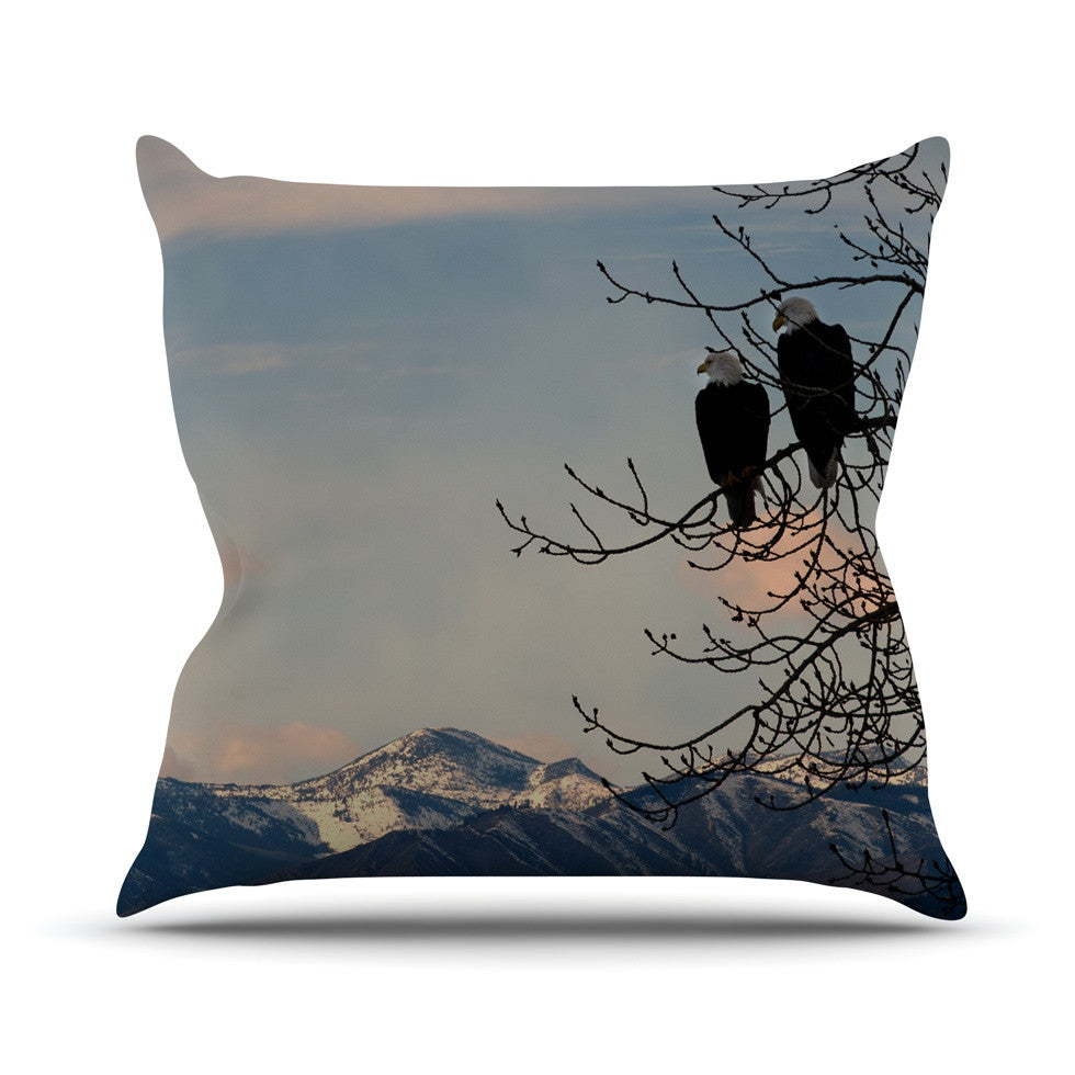 "Robin Dickinson ""Majesty"" Nature Landscape Throw Pillow - KESS InHouse  - 1"
