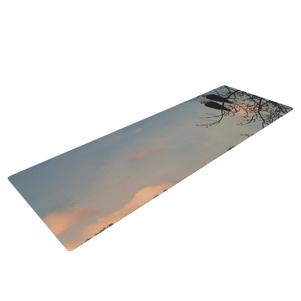 "Robin Dickinson ""Majesty"" Nature Landscape Yoga Mat - KESS InHouse  - 1"