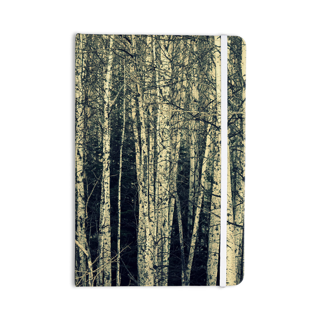 "Robin Dickinson ""Birch"" Beige Tan Everything Notebook - KESS InHouse  - 1"
