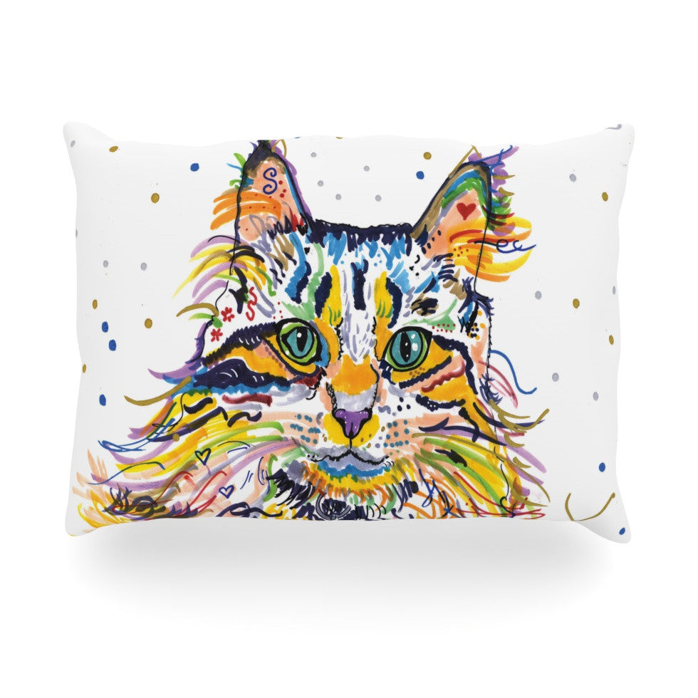 "Rebecca Fischer ""Leo"" Oblong Pillow - KESS InHouse"