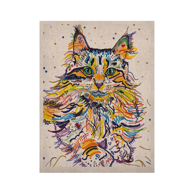 "Rebecca Fischer ""Leo"" KESS Naturals Canvas (Frame not Included) - KESS InHouse  - 1"