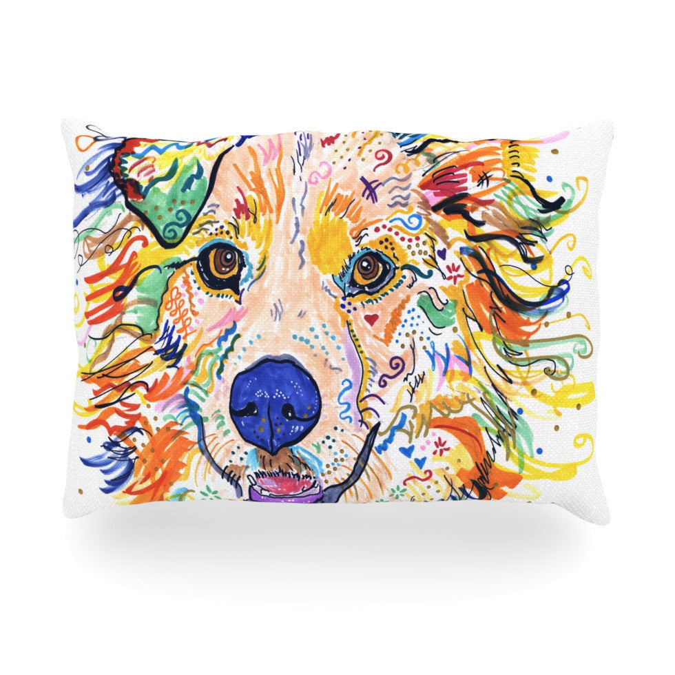 "Rebecca Fischer ""Jess"" Oblong Pillow - KESS InHouse"