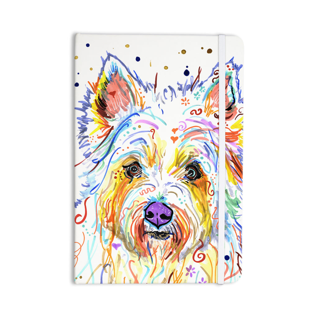 "Rebecca Fischer ""Bella"" Scottish Terrier Everything Notebook - KESS InHouse  - 1"