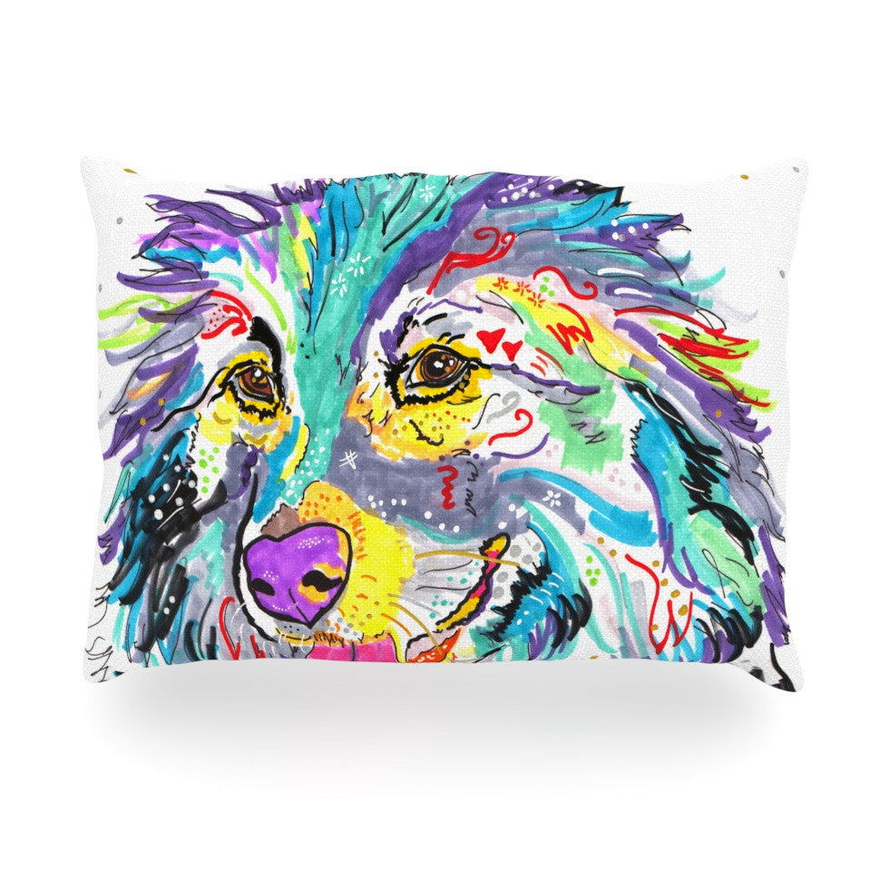 "Rebecca Fischer ""Dally"" Oblong Pillow - KESS InHouse"