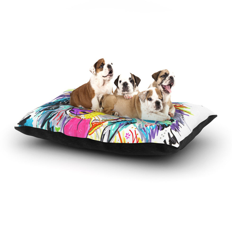 "Rebecca Fischer ""Dally"" Dog Bed - KESS InHouse  - 1"