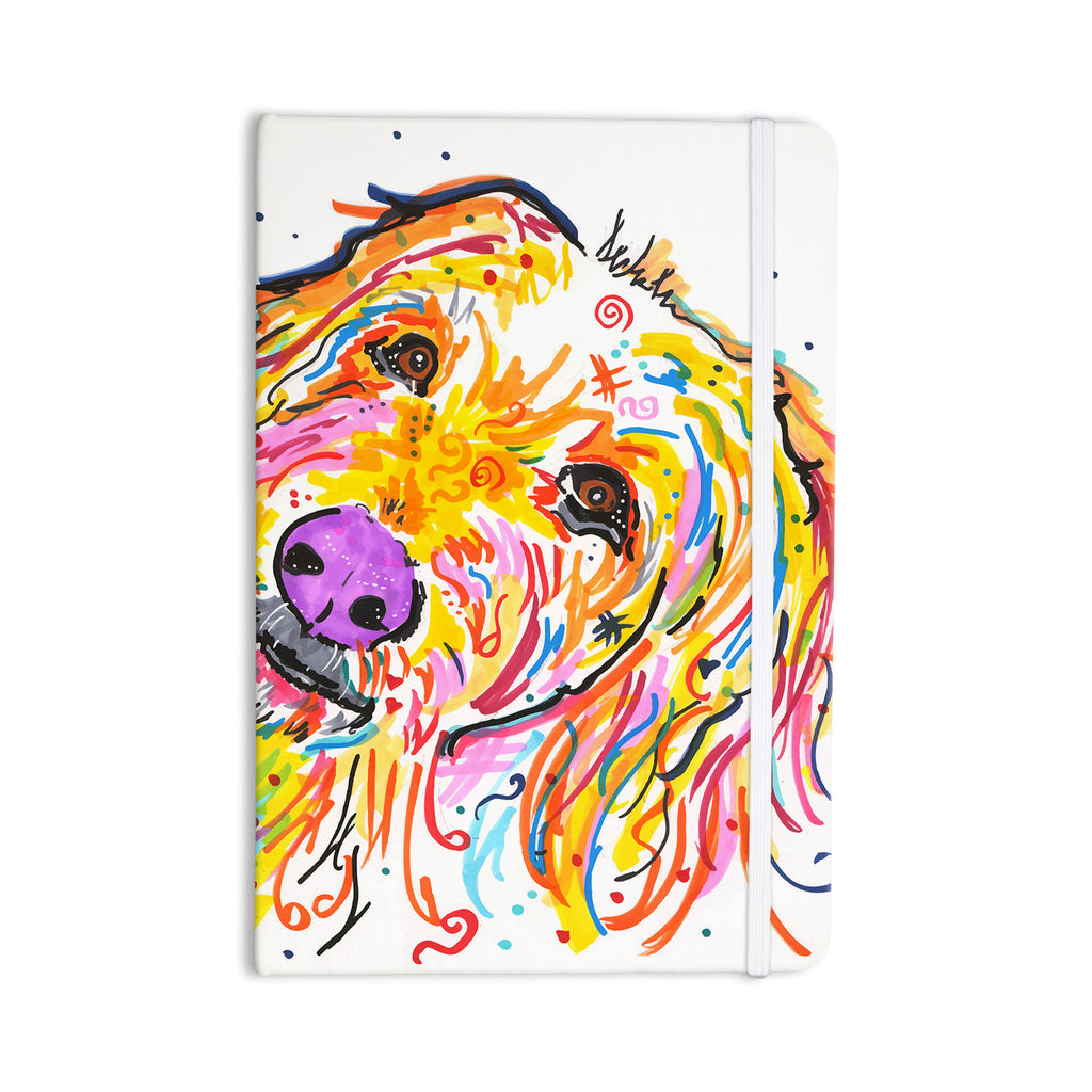 "Rebecca Fischer ""Koda"" Labradoodle Everything Notebook - KESS InHouse  - 1"