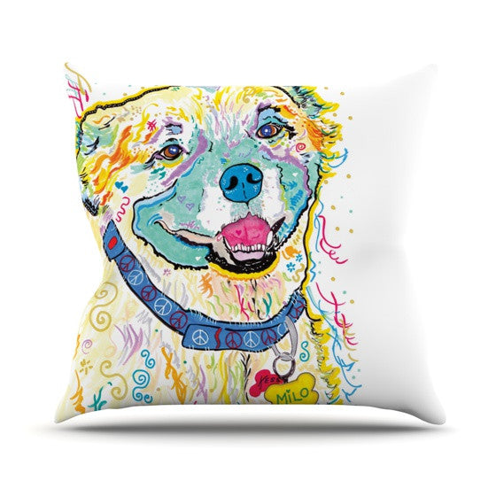 "Rebecca Fischer ""Milo"" Outdoor Throw Pillow - KESS InHouse  - 1"