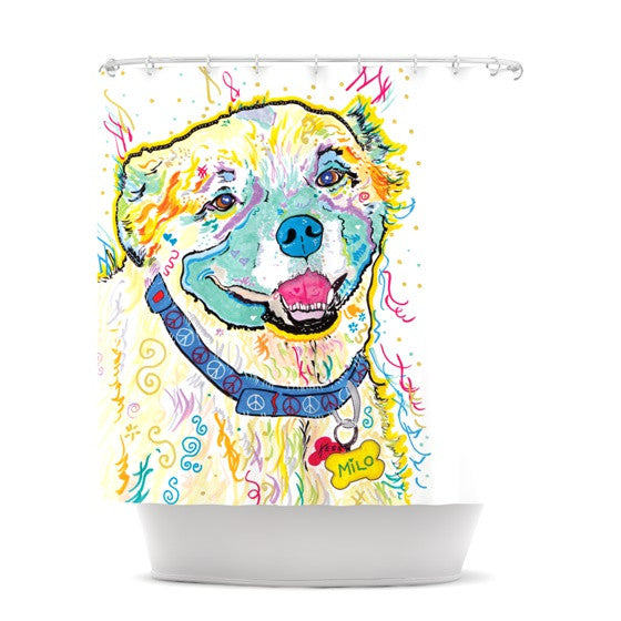 "Rebecca Fischer ""Milo"" Shower Curtain - KESS InHouse"