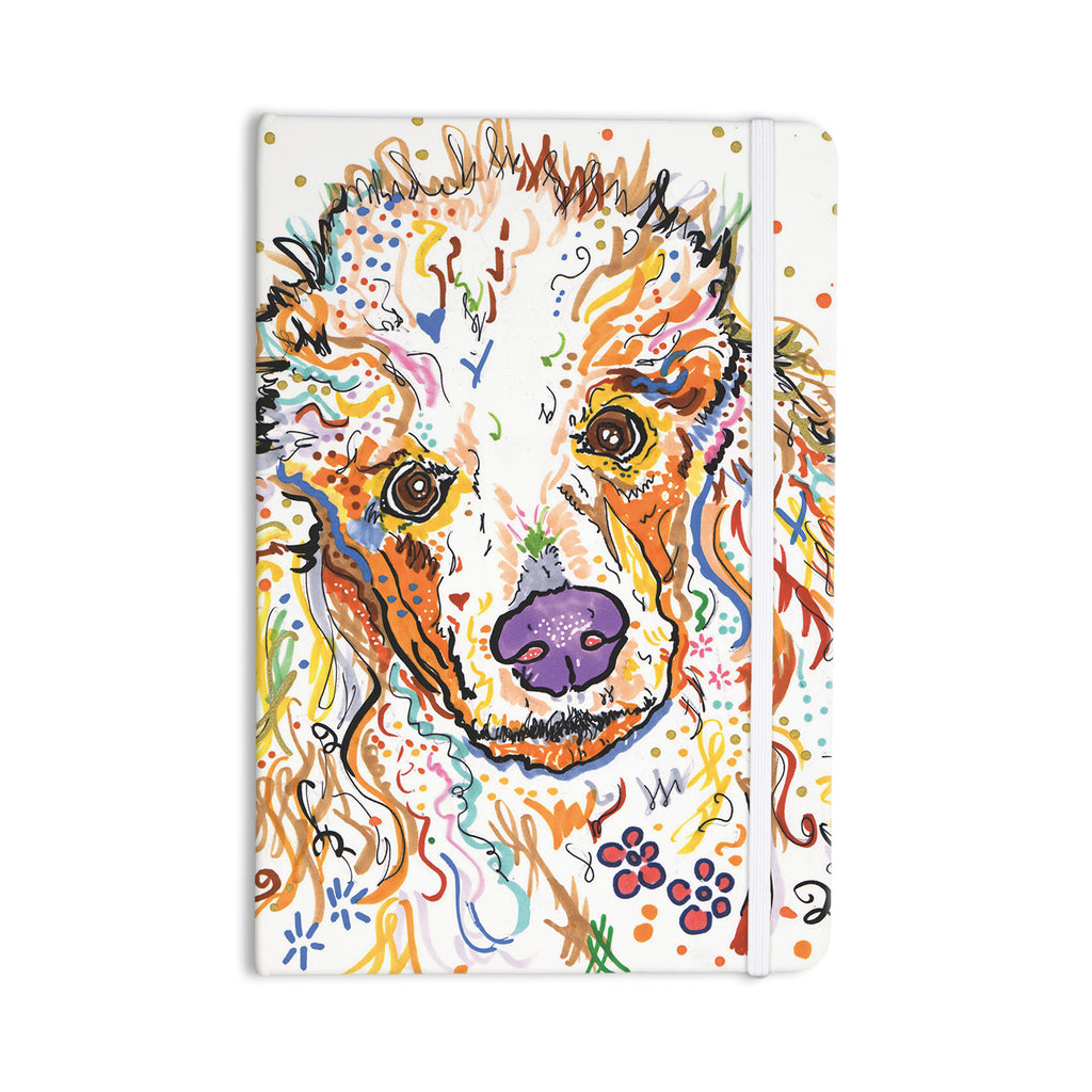 "Rebecca Fischer ""Lily"" Poodle Everything Notebook - KESS InHouse  - 1"