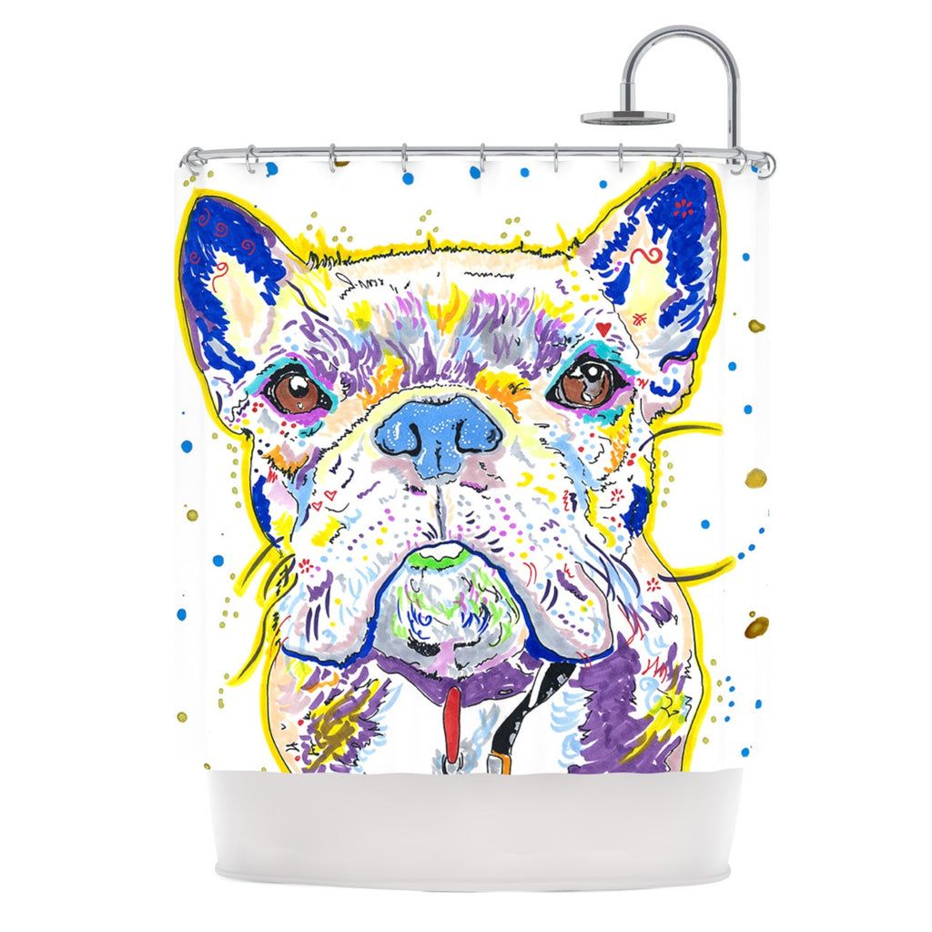 Niko Shower Curtain By Rebecca Fischer