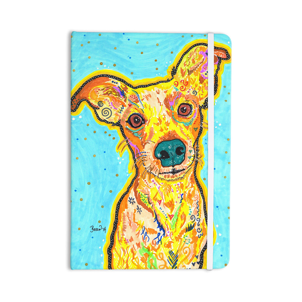 "Rebecca Fischer ""Tanner"" Terrier Everything Notebook - KESS InHouse  - 1"