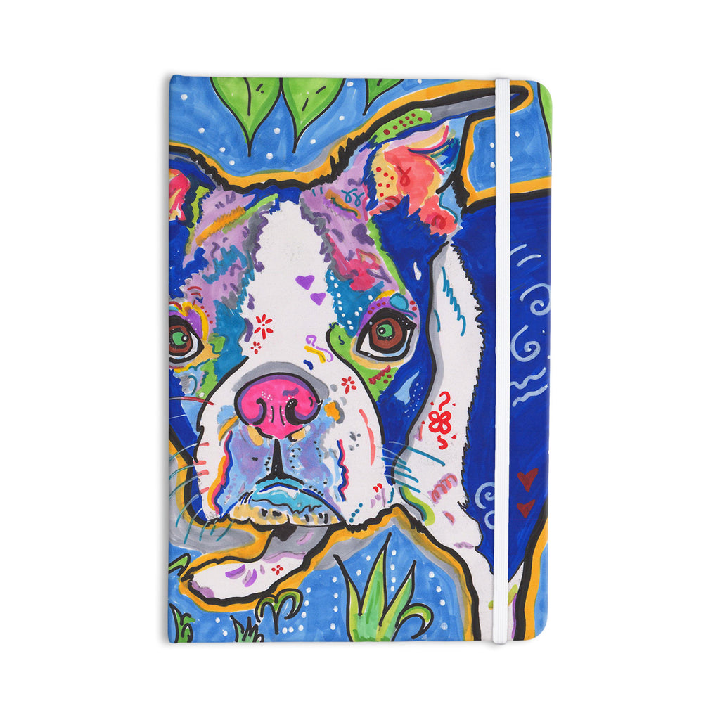 "Rebecca Fischer ""Addy Mae"" Pug Terrier Everything Notebook - KESS InHouse  - 1"