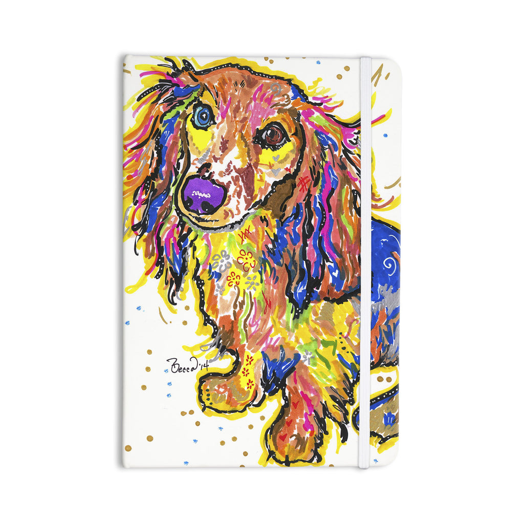 "Rebecca Fischer ""Leela"" Daschund Everything Notebook - KESS InHouse  - 1"