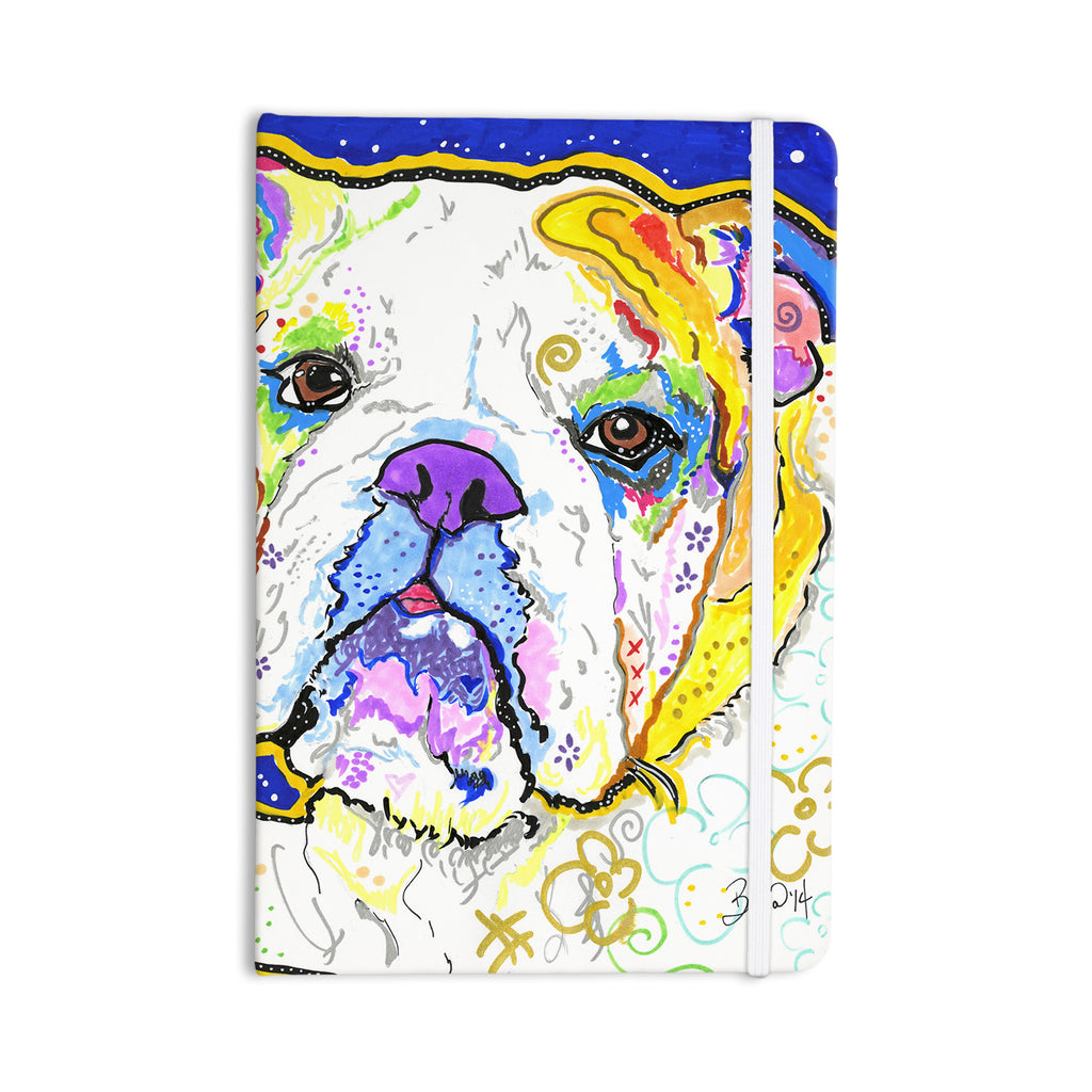 "Rebecca Fischer ""Mavis"" Bull Dog Everything Notebook - KESS InHouse  - 1"