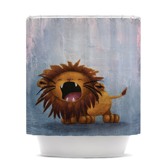 "Rachel Kokko ""Dandy Lion"" Shower Curtain - KESS InHouse"