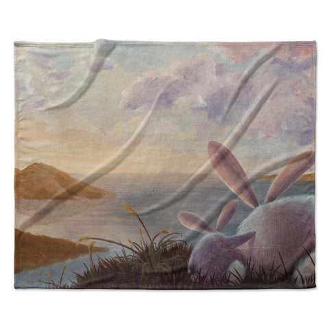 "Rachel Kokko ""A New Perspective"" Fleece Throw Blanket"