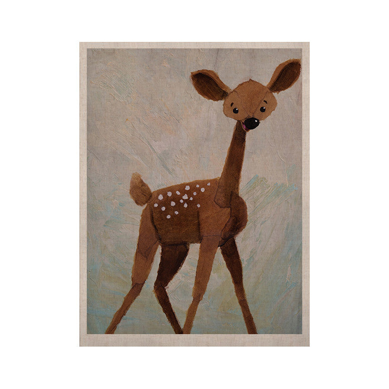 "Rachel Kokko ""Oh Deer"" KESS Naturals Canvas (Frame not Included) - KESS InHouse  - 1"