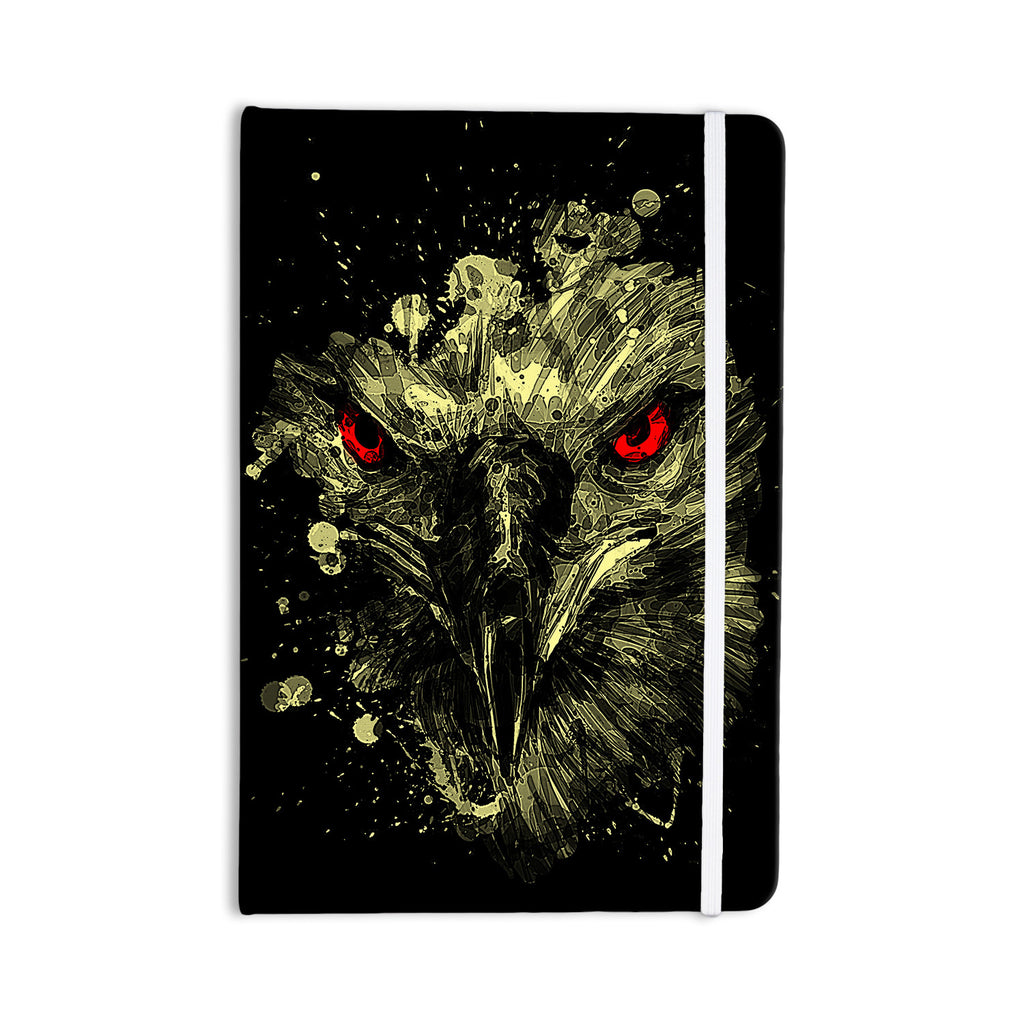 "BarmalisiRTB ""Eagle"" Black Yellow Everything Notebook - KESS InHouse  - 1"