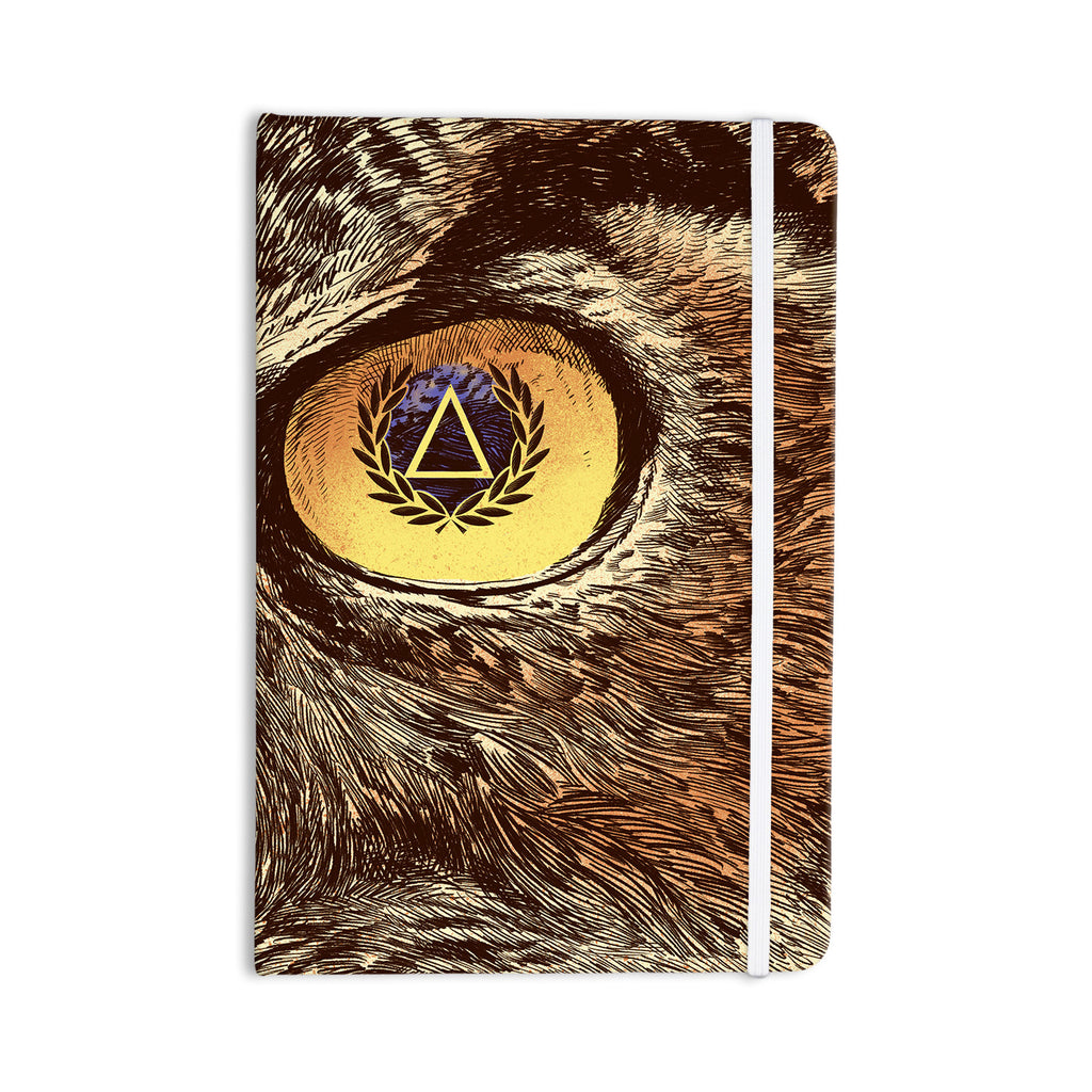 "BarmalisiRTB ""Sharp Eye"" Owl Everything Notebook - KESS InHouse  - 1"