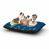 "Barmalisirtb ""You Need A Break"" Blue Moon Dog Bed - KESS InHouse  - 1"